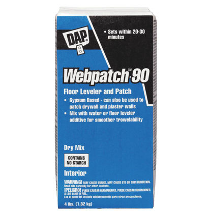 Picture of DAP Webpatch 90 Floor Leveler and Patch, Off White, 4 Lbs.