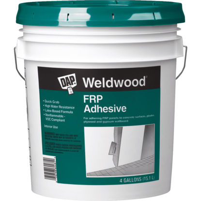 Picture of DAP Weldwood 4 Gal. FRP Panel Adhesive