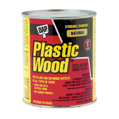 Picture of DAP Plastic Wood 16 Oz. Natural Solvent Professional Wood Filler