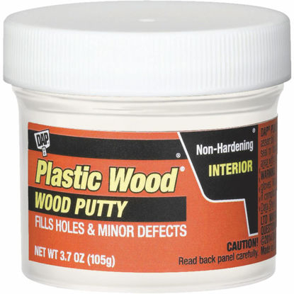Picture of DAP Plastic Wood 3.7 Oz. White Wood Putty