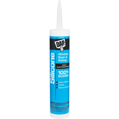 Picture of DAP 9.8 Oz. Window, Door & Siding Silicone Sealant, Clear