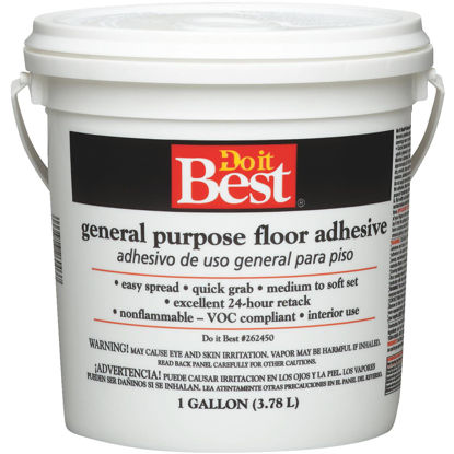 Picture of Do it Best Beige General-Purpose Floor Adhesive (Gallon)