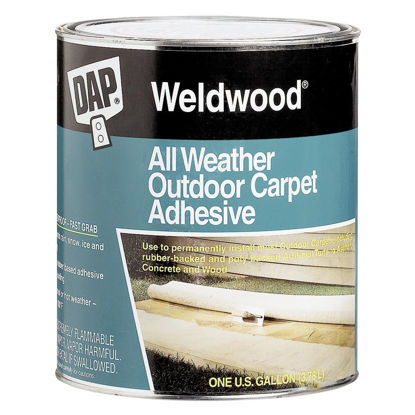 Picture of DAP Weldwood All Weather Outdoor Carpet Adhesive, Quart