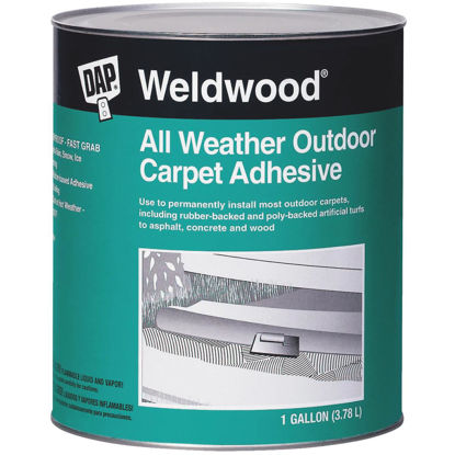 Picture of DAP Weldwood All Weather Outdoor Carpet Adhesive, Gallon
