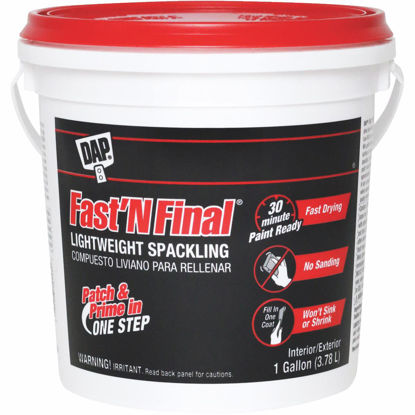 Picture of DAP Fast 'N Final 1 Gal. Lightweight Latex Patch & Prime Spackling