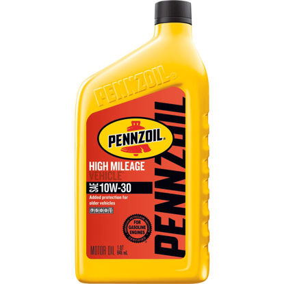 Picture of Pennzoil 10W30 Quart High Mileage Motor Oil