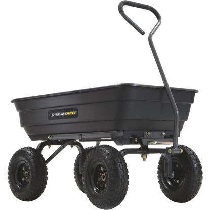 Picture of Gorilla Carts 4 Cu. Ft. 600 Lb. Poly Garden Cart