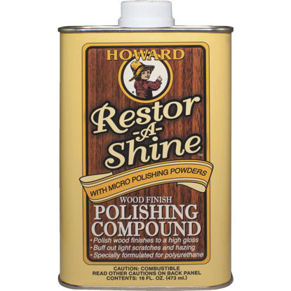 Picture of Howard Restor-A-Shine 16 Oz. Wood Finish Polishing Compound