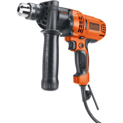 Picture of Black & Decker 1/2 In. 7-Amp Keyed Electric Drill/Driver