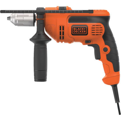 Picture of Black and Decker 1/2 In. 6-Amp Keyless Electric Hammer Drill