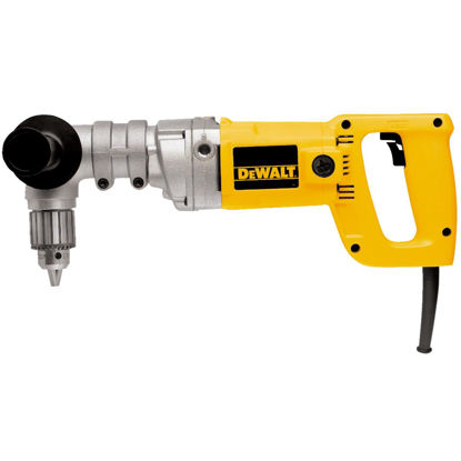 Picture of DeWalt 1/2 In. 7-Amp Keyed Electric Angle Drill with Case