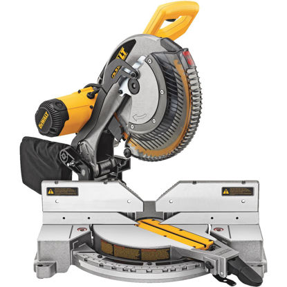 Picture of DeWalt 12 In. 15-Amp Dual-Bevel Compound Miter Saw