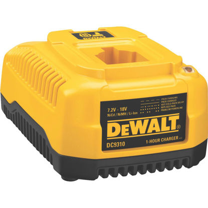 Picture of DeWalt 7.2-Volt to 18-Volt Nickel-Cadmium/Nickel-Metal Hydride/Lithium-Ion Fast Battery Charger