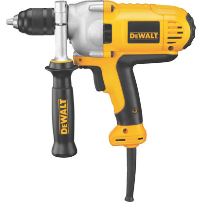 Picture of DeWalt 1/2 In. 10-Amp Keyless Electric Drill with Mid-Handle Grip