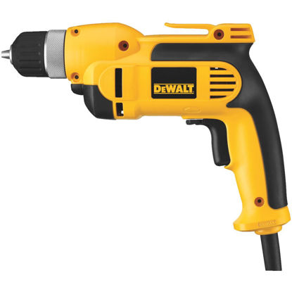 Picture of DeWalt 3/8 In. 8-Amp Keyless Electric Drill with Case