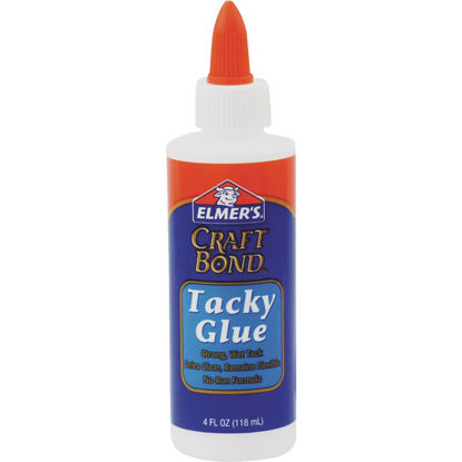 Picture of Elmer's Craft Bond 4 Oz. Clear Drying Tacky Glue