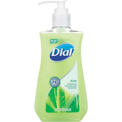 Picture of Dial Aloe Antibacterial Liquid Hand Soap with Moisturizer