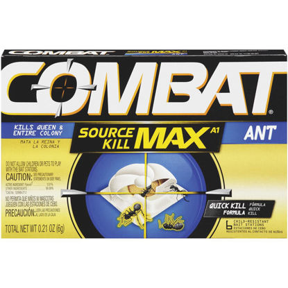 Picture of Combat Source Kill Max 0.21 Oz. Solid Ant Bait Station (6-Pack)