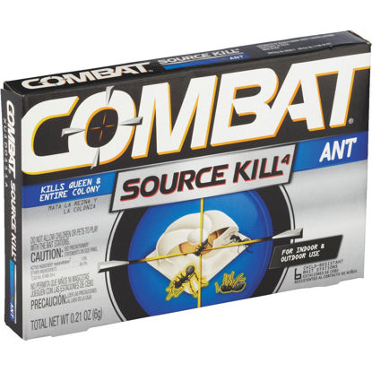 Picture of Combat Source Kill 0.21 Oz. Solid Ant Bait Station (6-Pack)