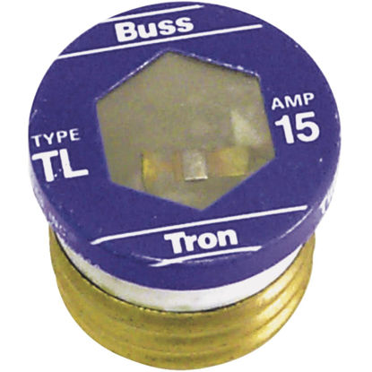 Picture of Bussmann 15A TL Time-Delay Plug Fuse (4-Pack)