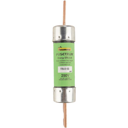 Picture of Bussmann 100A FRN-R Cartridge Heavy-Duty Time Delay Cartridge Fuse