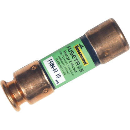 Picture of Bussmann 10A FRN-R Cartridge Heavy-Duty Time Delay Cartridge Fuse