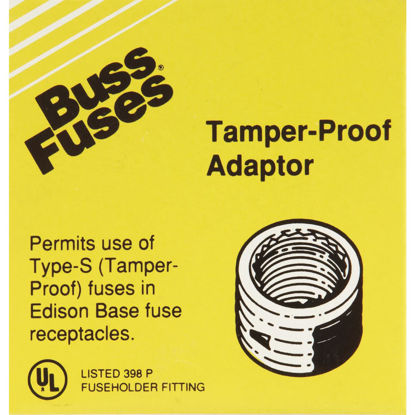 Picture of Bussmann Plug Rejection S-25 & S-30 Fuse Adapter (4-Pack)