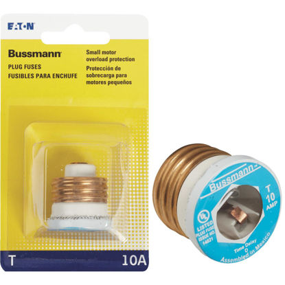 Picture of Bussmann 10A BP/T Time-Delay Plug Fuse