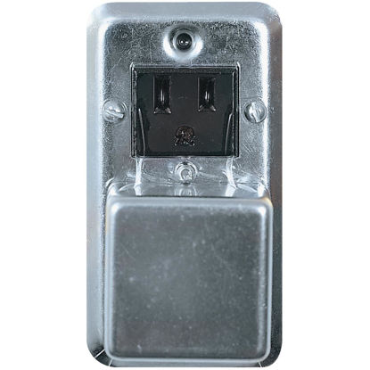 Picture of Bussmann 125V 15A 2-1/4 In. Handy Box Fuse Holder Cover Plate