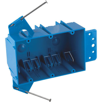 Picture of Carlon 3-Gang PVC Molded Wall Switch Box