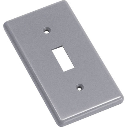 Picture of Steel City Single Toggle Switch 4-1/4 In. x 2-5/16 In. Handy Box Cover