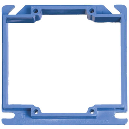 Picture of Carlon Gang Type 4 In. x 4 In. Square Raised Cover