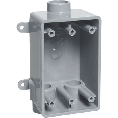 Picture of Carlon 1-Gang PVC Molded Wall Box