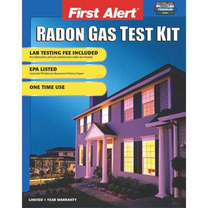 Picture of First Alert Outside Lab Radon Test Kit