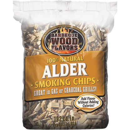 Picture of Barbeque Wood Flavors 2.25 Lb. Alder Smoking Chips