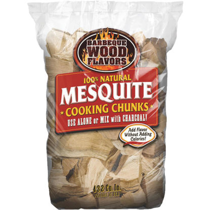 Picture of Barbeque Wood Flavors 6 Lb. Mesquite Smoking Chunks