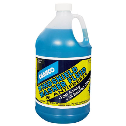 Picture of Camco Xtreme Blue +20 F with Antifreeze Gallon Windshield Washer Fluid