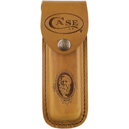 Picture of Case Brown Leather Belt Knife Sheath