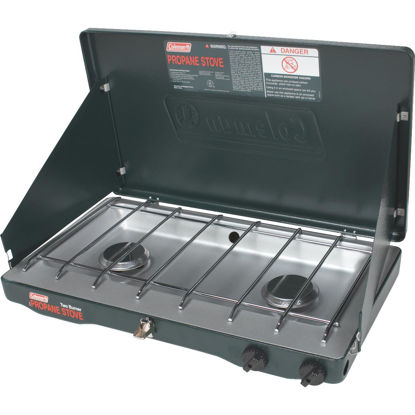 Picture of Coleman PerfectFlow 2-Burner Propane Camp Stove