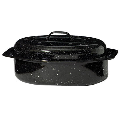 Picture of GraniteWare 8 In. x 13 In. Covered Oval Roaster Pan