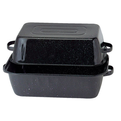 Picture of GraniteWare Covered Rectangle Roaster Pan