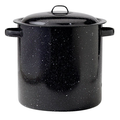 Picture of Columbian GraniteWare 16 Qt. Steel Stockpot Cooker