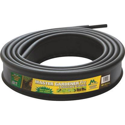 Picture of Master Mark Master Gardener Pro Contractor 5 In. H. x 20 Ft. L. Black Recycled Plastic Lawn Edging