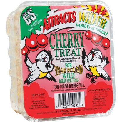 Picture of C&S 11.75 Oz. Cherry Treat Suet
