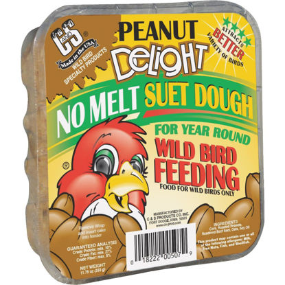 Picture of C&S 11.75 Oz. Peanut Delight Suet Dough