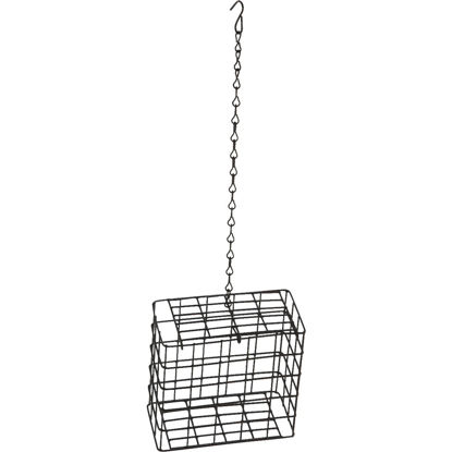 Picture of C&S Black 2-Cake Plastic Suet Feeder