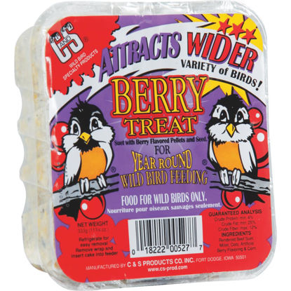 Picture of C&S 11.75 Oz. Berry Treat Suet