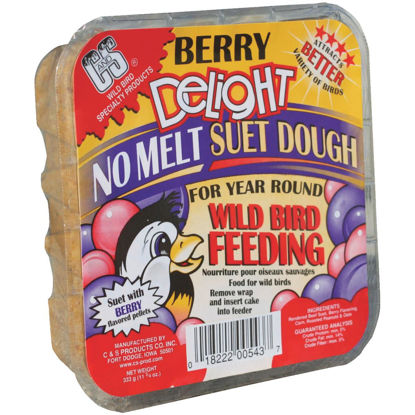 Picture of C&S 11.75 Oz. Berry Delight Suet Dough