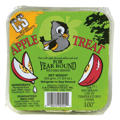 Picture of C&S 11.75 Oz. Apple Treat Suet