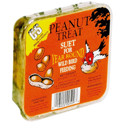 Picture of C&S 11 Oz. Peanut Treat Suet